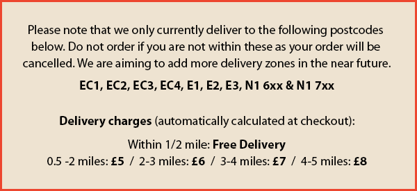Delivery Zone Notice